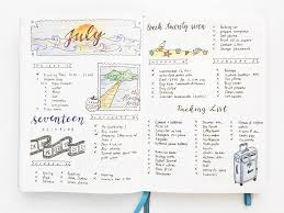 yu s daily log in her bullet journal