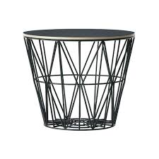 wire side table black wire coffee table small accents that would make great coffee tables black wire side table
