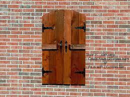 Best  Outdoor Window Shutters Ideas On Pinterest - Exterior shutters uk