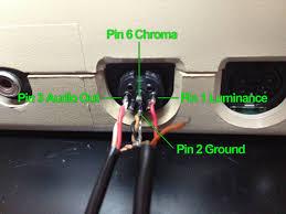 proper c s video com pins 7 8 removed from 270acircdeg 8 pin din connector