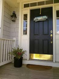 front door paint ideasBloombety  Best Front Door Black Paint Colors Front Door Paint