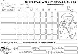 star charts for kids thrifty 101