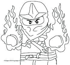 Printable Ninjago Coloring Pages Coloring Pages Lego Ninjago Movie