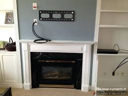 mounting tv above fireplace how to hide cables brick fireplace best image for simple mounting above mounting tv above fireplace