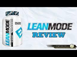 Evlution Nutrition EVL <b>Lean Mode Stimulant Free</b> Review - YouTube
