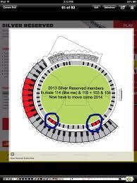 2014 Metricon Stadium Map For Members Bigfooty