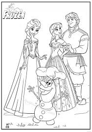 Small Picture Printable Coloring Pages Of Frozen Coloring Pages