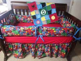 custom baby bedding super hero crib set marvel crib set