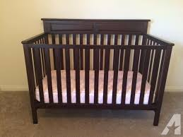 brand new graco cherry wood crib mattress included