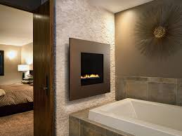 gas fireplace contemporary closed hearth wall mounted ion heatilator