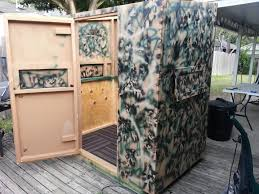 763 Best Hunting Images On Pinterest  Hunting Hunting Stuff And Homemade Deer Blind Windows