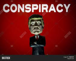 Image result for cartoon of Trump's conspiracy