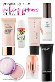 what makeup and foundation primers are safe to use while pregnant