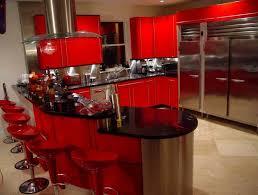Black And Red Kitchen Black And Red Kitchen Designs Fashionable Black Kitchen Design