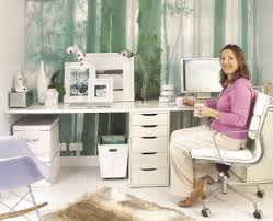 wall organizers home office. Decoration Ideas. Charming Interior Decorating Ideas Using White Leather Swivel Chair Also Wooden Desk Wall Organizers Home Office N