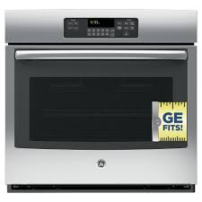 single electric wall oven self cleaning with steam in stainless steel