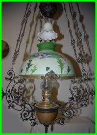 the best huge antique art nouveau iron brass fl hanging oil lamp of site com chandelier