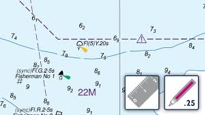 Buoy Symbols Chart Deleting A Buoy And Description On An Admiralty Standard Nautical Chart