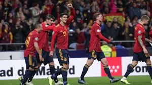 Spain V Romania Match Report 18 11 19 Ec Qualification
