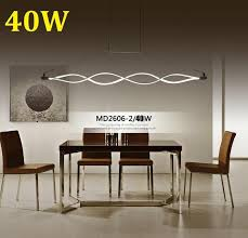 100cm dimmable reomte control modern chandelier for living room dining room bedroom foyer decoration 110v 220v led chandeliers