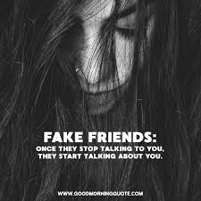They are too ashamed to introduce you to their other friends, they think your friendship is better left in private still on fake people quotes & saying. Fake Friend Quotes To Tell When She S Not Really Your Friend