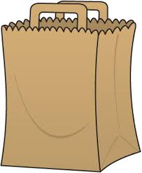 Image result for free images of a grocery paper bag