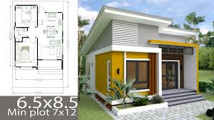Simple Small House Design Pictures Small Home Design Plan 6 5x8 5m With 2 Bedrooms Small