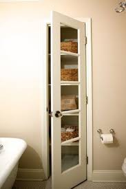 linen closet transitional bathroom twin companies in doors idea 3