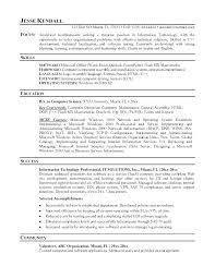 Resume Template For Professionals Samples Of It Resumes Professional ...