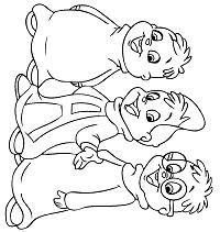 Alvin E I Chipmunks Da Colorare E Stampare Gratis