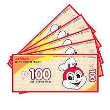 Cash Gift Certificate