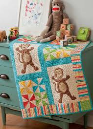 Monkey Madness Quilt Pattern Download &  Adamdwight.com