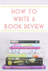 becky bedbug tips for writing book reviews