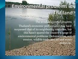 environmental problems in thailand
