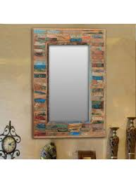 rustic wood mirror frame. Simple Frame Creative Design Rustic Wooden Mirrors Mirror Wood  Wwwontwarriorscom Modern In Frame U