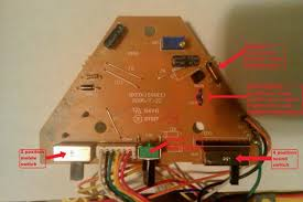 hi all new here a little help electronics forum circuits in the following image i ve attached arrows and numbers to show where the voltage drop happens the circuit goes straight to the swing motor from point 1