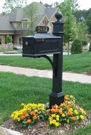 double mailbox post. Mailbox With Post Double Designs