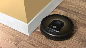 an irobot roomba 980 is seen in this undated handout photo