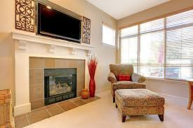 placing a flat screen television above the fireplace makes the whole room look attractive and welcoming however you need to evaluate some important