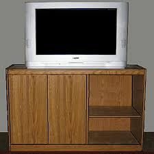 ilration of an entertainment center with a tv