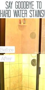 hard water spot cleaner hard water stains on glassware clean hard water stains from glass how