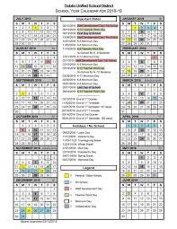 Year To Year Calendar 2018 19 School Year Calendar 2018 19 School Year Calendar