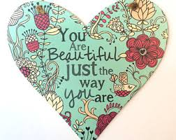 Beautiful Just The Way You Are Quotes Best Of You Are Beautiful Etsy