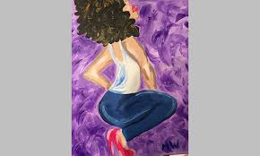 this painting was done at the painting with a twist franchise at the harmar mall in roseville