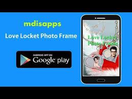 love locket photo frame you