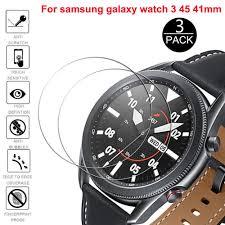 Sale set 1/3 miếng dán cường lực 9h hd cho đồng hồ thông minh samsung  galaxy watch 3 41 45mm giá rẻ mới cập nhật 47 phút trước