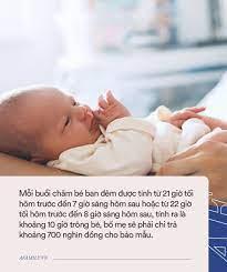 Dịch vụ chăm sóc bé sơ sinh ban đêm cho mẹ ngủ với mức giá gây sốc