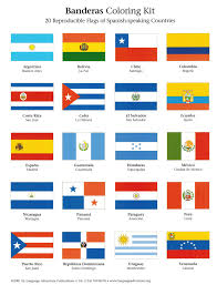 Small Picture Sweet Idea Spanish Speaking Countries Flags Coloring Pages 8