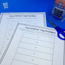 this is such a fun and simple way for kids to practice simplifying and evaluating expressions
