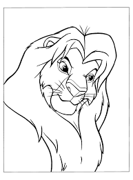 simba coloring pages new astonishing lion king simba coloring pages with and mufasa 10